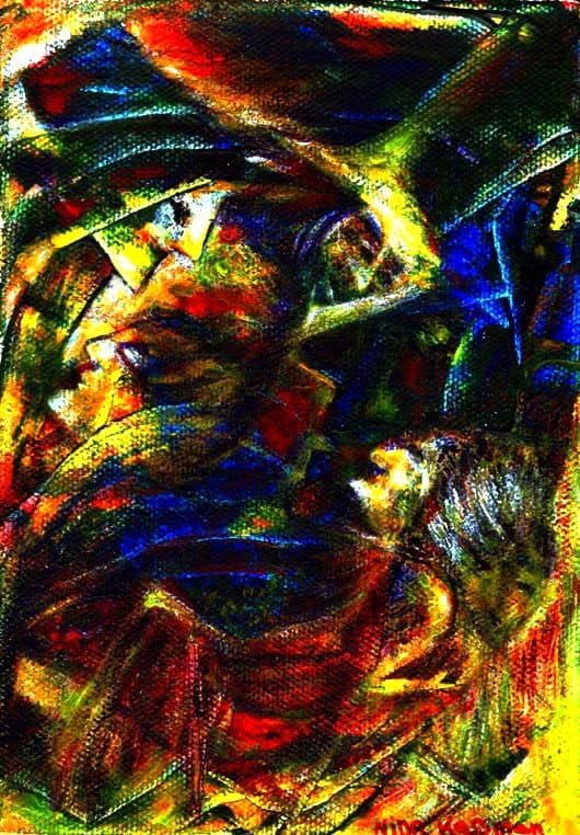 Painting - After-a-Hundred-Years-Sleeping-Beauty-Wakes-Up-4-3