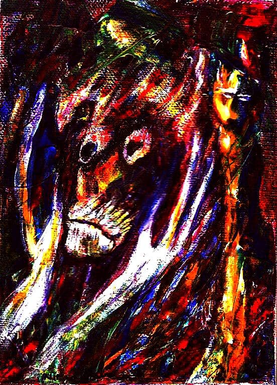 Painting - Embrace-the-Animal-in-Yourself-they-say