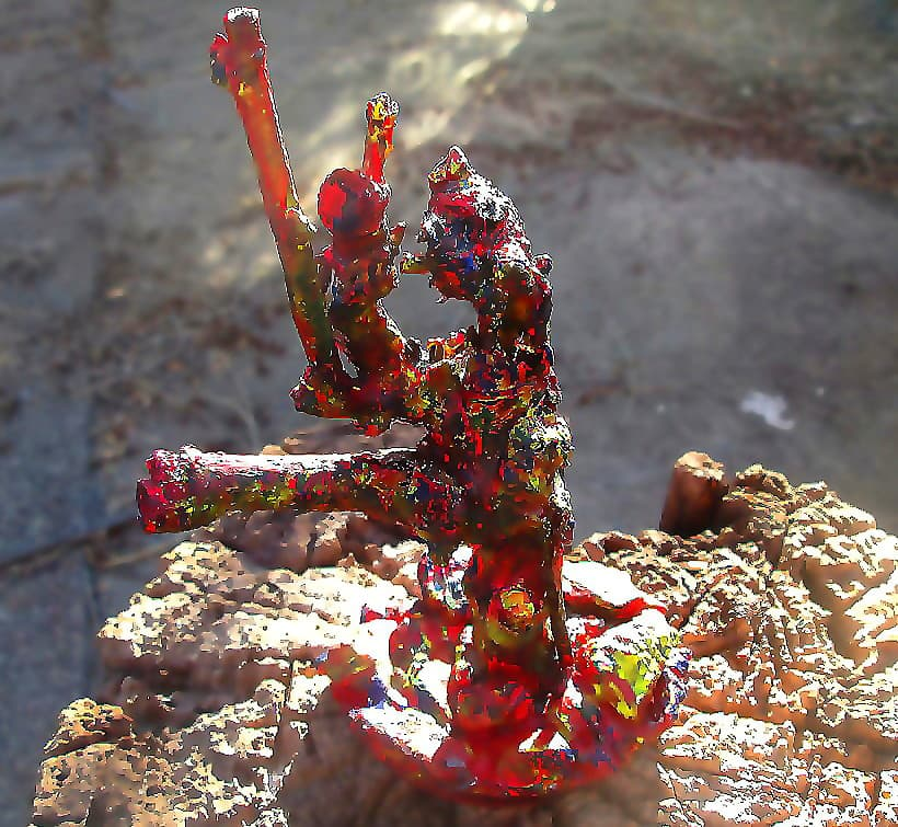 Root sculpture John the Baptist (2)