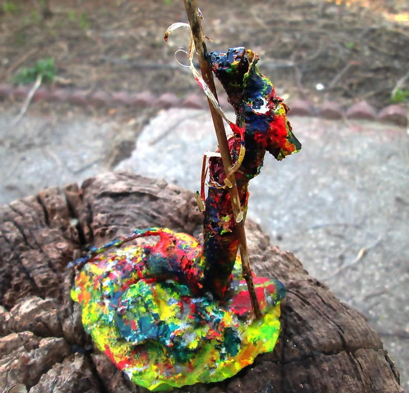 Root sculpture Pilgrim Gondolier