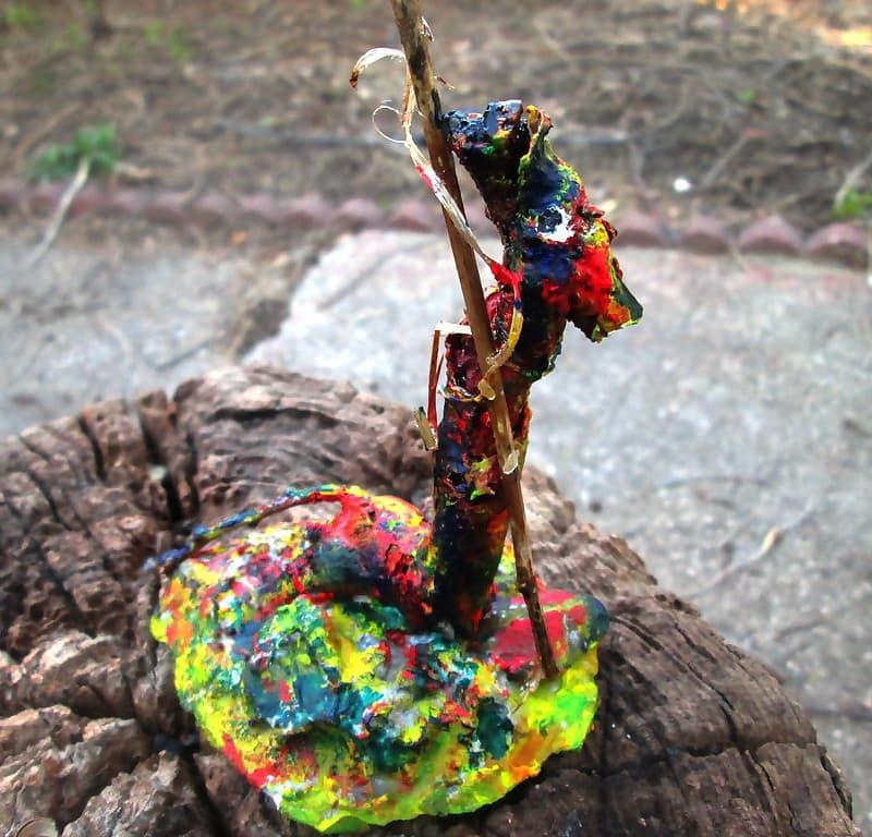 Root sculpture Pilgrim Gondolier