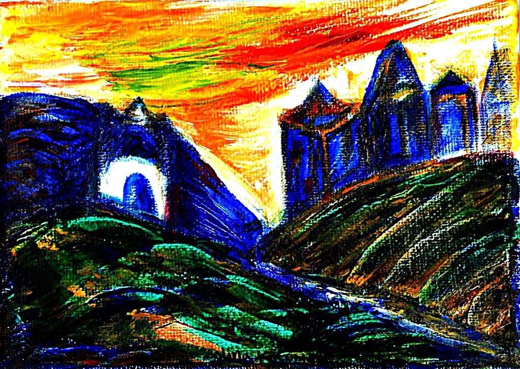 Painting - Shore-of-Detachment
