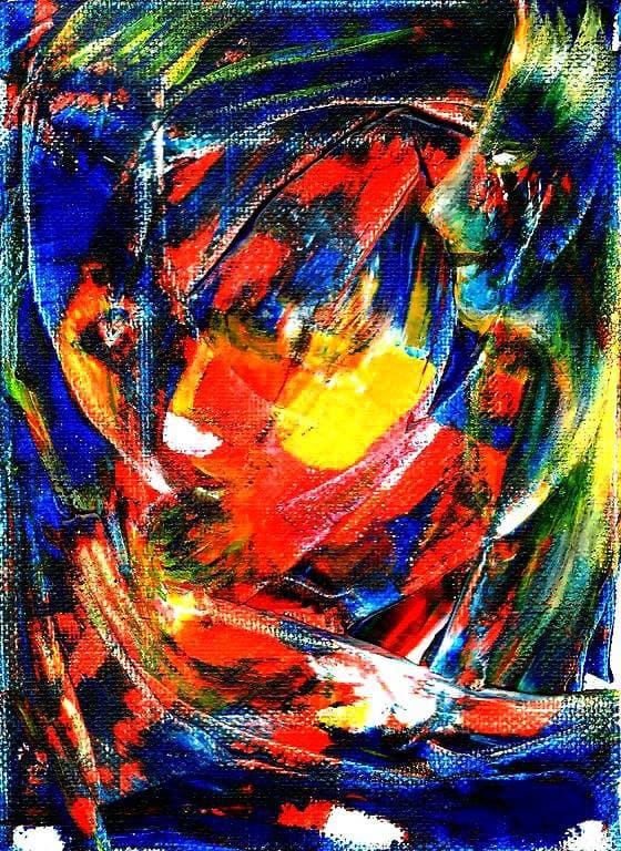 Painting - Vodnye-protsedury-play