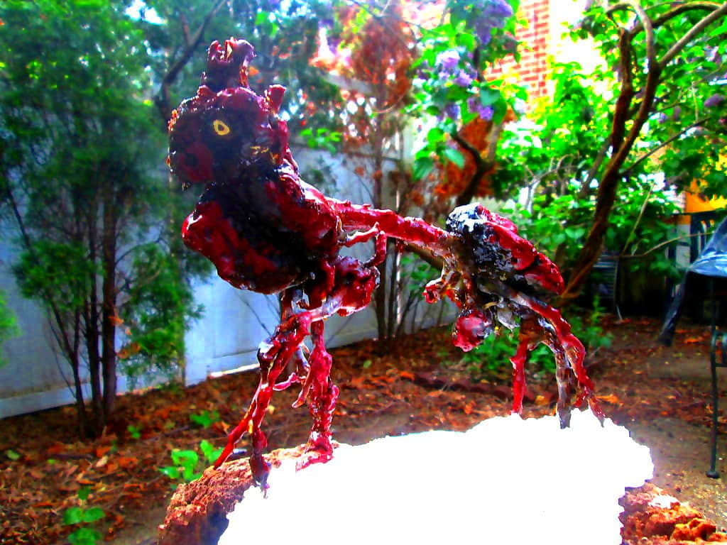 Insect Dragon root sculpture